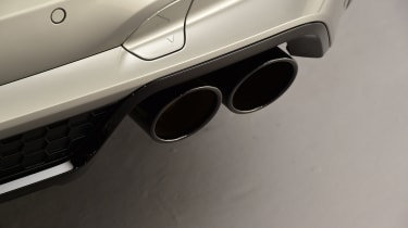BMW X3 M exhaust