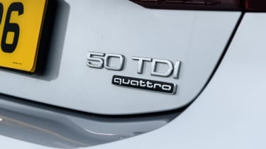 Audi A7 Sportback TDI badge