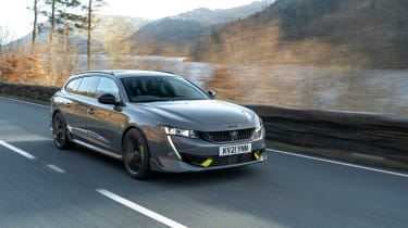 Peugeot 508 PSE – front tracking