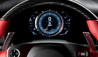 Lexus LFA rev counter