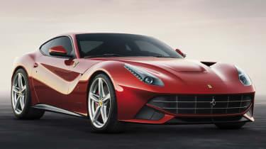 New Ferrari F12 Berlinetta front