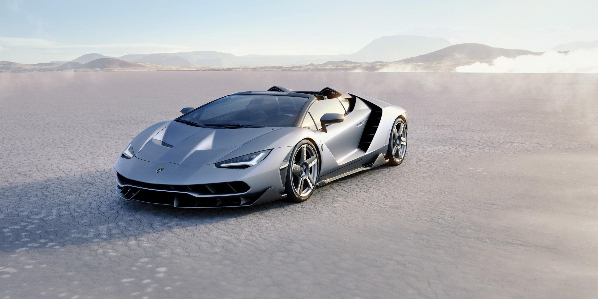Lamborghini Centenario Roadster revealed