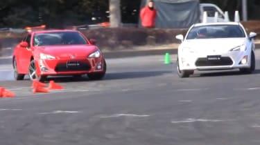 Video: Toyota GT 86 goes drifting