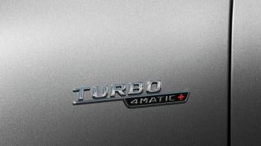 Mercedes-AMG CLA45 S Shooting Brake - badge