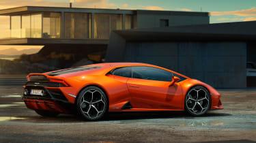 Lamborghini Huracan EVO side