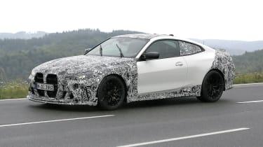 BMW M4 CSL spy 2021 – 11