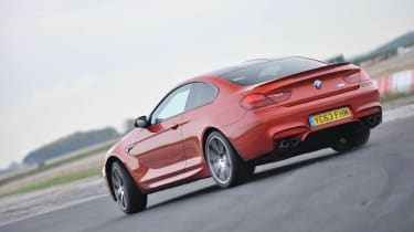 BMW M6 Competition Package orange rear