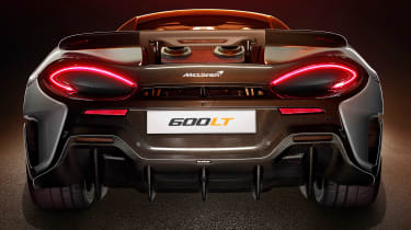 McLaren 600LT revealed - tail