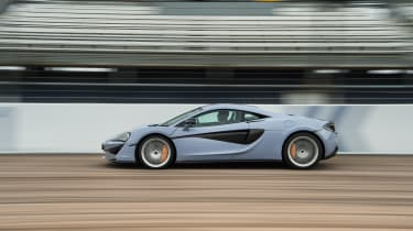 McLaren 570S Track Pack - side tracking