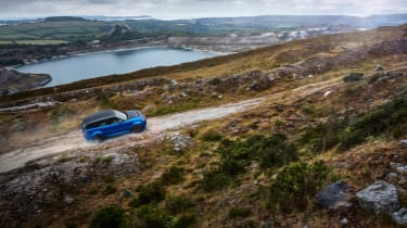 Range Rover Sport SVR - off road