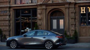 Mazda 3 saloon revealed - rear