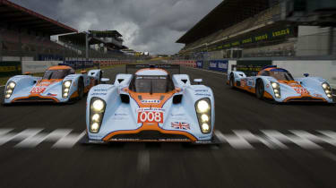 Aston Martin LMP1 Le Mans car