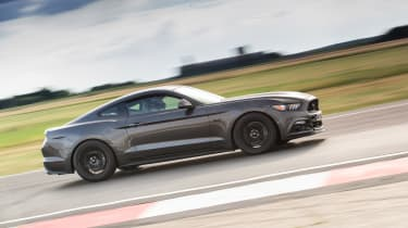 evo track evening - Mustang