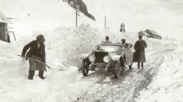 Radley on the Pordoi Pass, June 1913