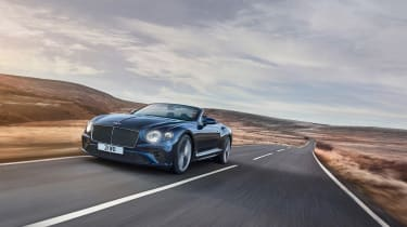 Bentley Continental GT Convertible Speed – front tracking