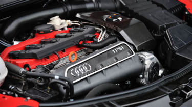 2013 Audi TT RS Plus five-cylinder turbo engine