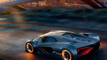 Lamborghini Terzo Millennio - gen rear