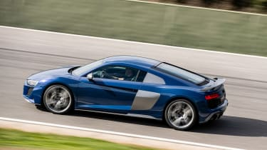 Audi R8 facelift review - side