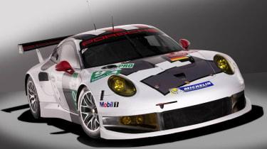 2013 Porsche 911 RSR  front splitter