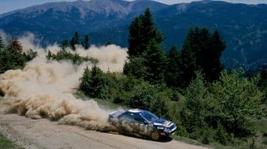 STI impreza WRC car 95