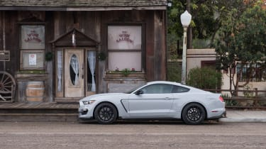 Shelby Mustang GT350 side