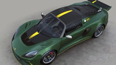 Lotus Exige 430 Cup Type 25 – top