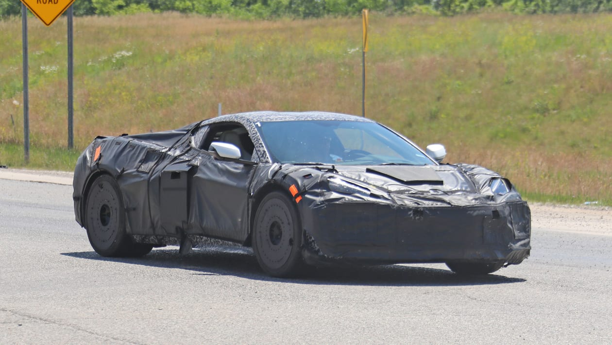 New 2023 Chevrolet Corvette Z06 teased in exhaust clip