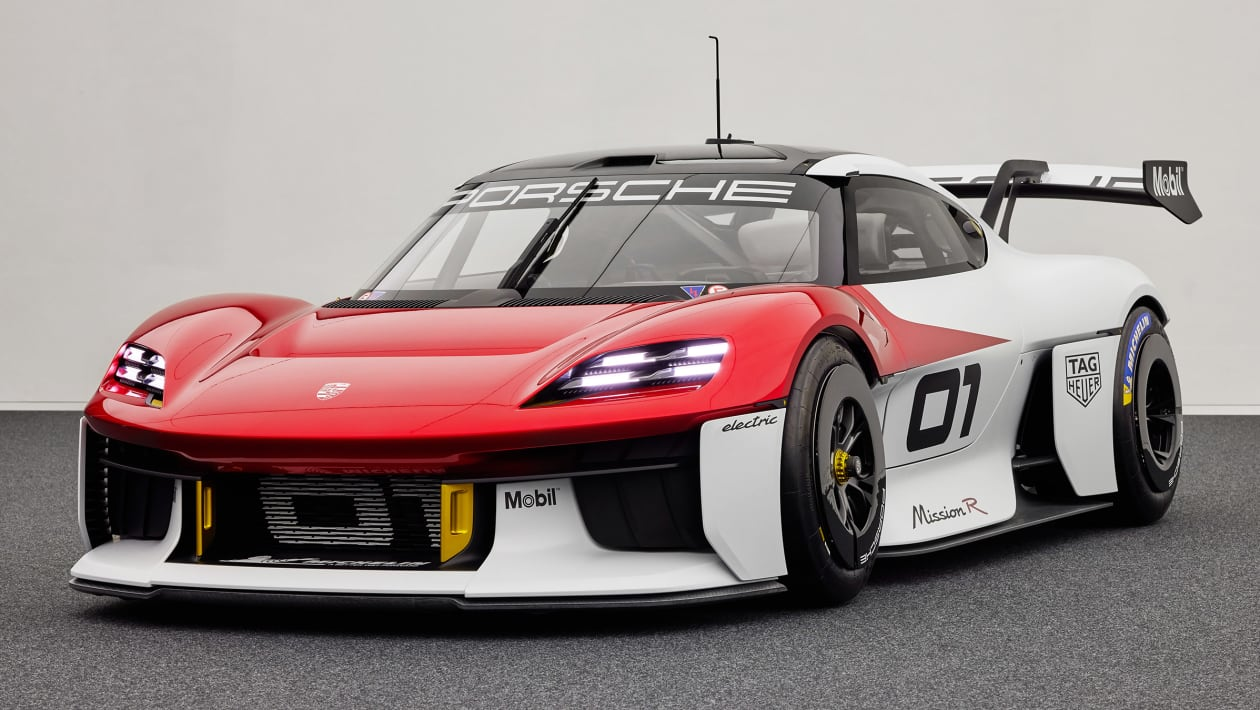 Porsche Mission R previews new one-make racer and Cayman successor