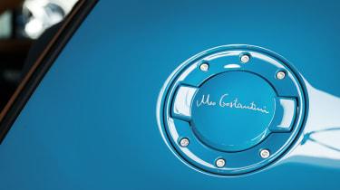 Bugatti Veyron Meo Costantini fuel cap