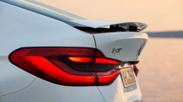 BMW 6-series GT - rear wing out