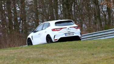 Renault Megane RS Trophy-R spied - rear