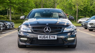 Mercedes-Benz C63 AMG Coupe – front