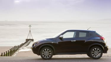 Driven: Nissan Juke Shiro 1.5 dCi side profile
