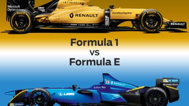 Formula 1 vs Formula E