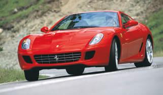 Ferrari 599 GTB Fiorano drift