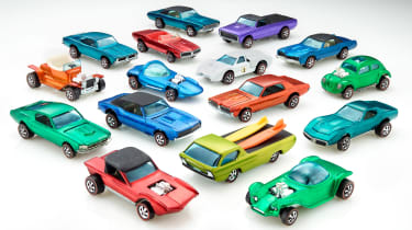 50 Years of Hot Wheels - range