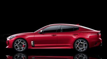 Kia Stinger GT press - static profile