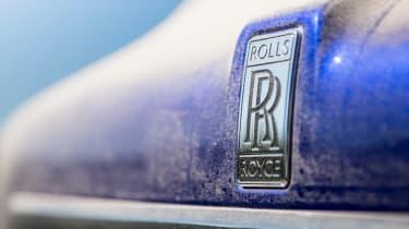 Rolls-Royce Cullinan dirty badge