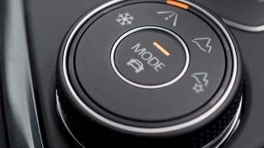 Volkswagen Tiguan – Mode switch