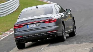 Audi S8 prototype - rear