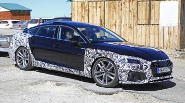 Audi A5 Sportback spy - quarter