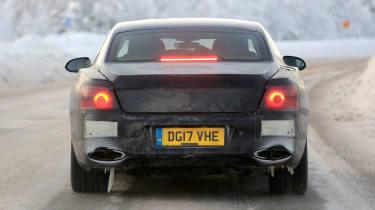 Bentley Flying Spur spied – rear