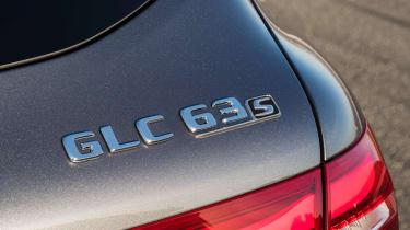Mercedes-AMG GLC 63 badge