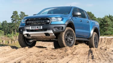 Ford Ranger Raptor UK - static
