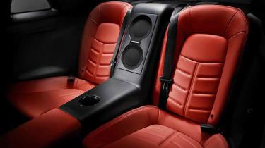 Nissan GT-R 2014 model year rear seats