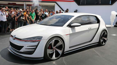 496bhp VW Golf Design Vision GTI
