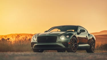 Bentley Continental GT V8 review - nose