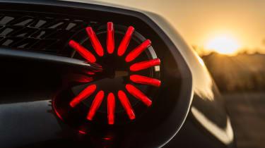 Aston Martin Zagato Volante - taillight