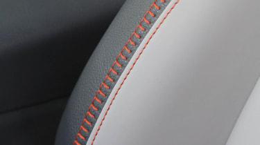 Volkswagen Amarok Canyon orange stitching