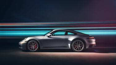 Porsche 911 992 Carrera 4S - side